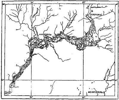 Схематическая карта части